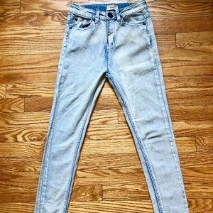Tobi High-Waisted Skinny Mom Jeans